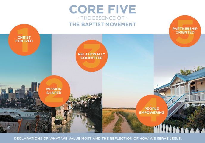 The Core Five - Essence of the Baptist Movement